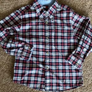Boys Tommy Hilfiger Oxford Shirt SZ 6